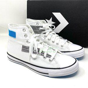 Converse Chuck Taylor All Stars High White Canv M